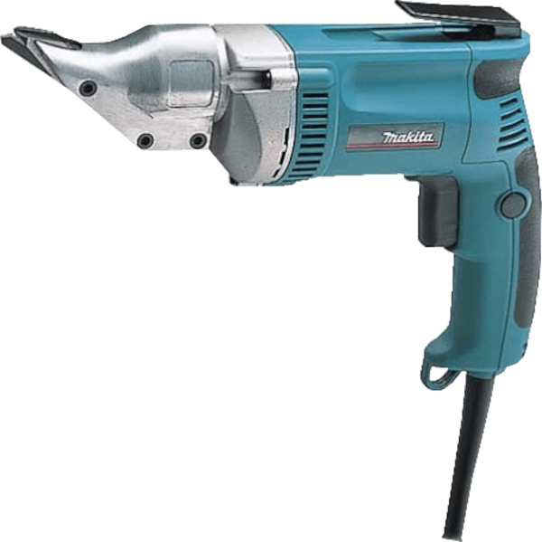 Makita JS1300 cuts up to 20 GA SS 6 5 amp double cut metal shears