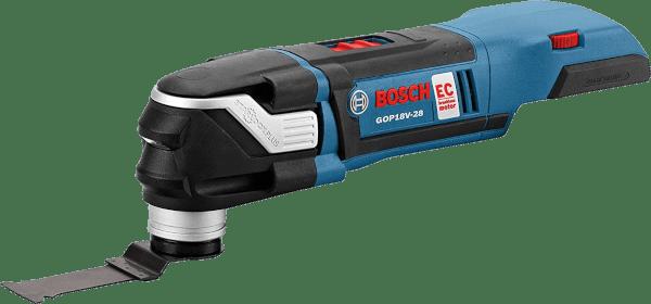 Bosch GOP18V 28N 32 pcs 8 000 to 20 000 opm 18V cordless oscillating multi tool kit