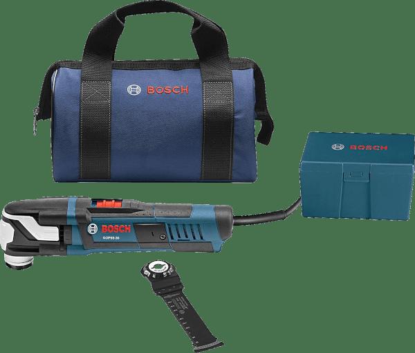 Bosch GOP55 36B 40 pcs up to 20 000 opm 5 5 amp oscillating multi tool kit