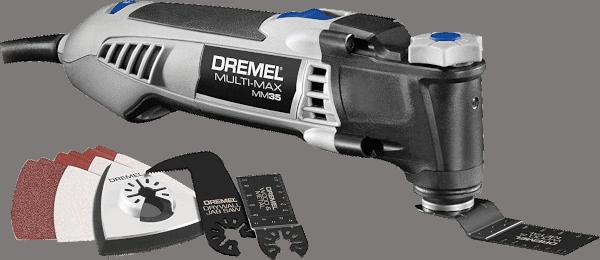 Dremel Multi Max MM35 01 12 pcs 10 000 to 21 000 opm 3 5 amp oscillating multi tool kit