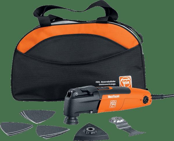 Fein MultiTalent 11 pcs 11 000 to 20 000 opm 250 watts oscillating multi tool kit