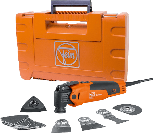 Fein Multimaster FEIN FMM350QSL 8 pcs 10 000 to 19 500 opm 350 watts oscillating multi tool kit