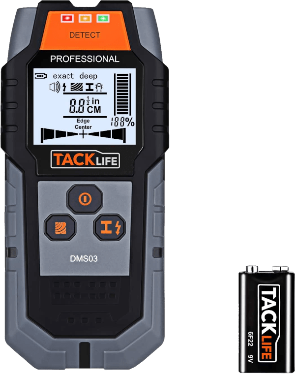 Tacklife DMS03 4 inches max 4 modes multi wall scanner stud finder