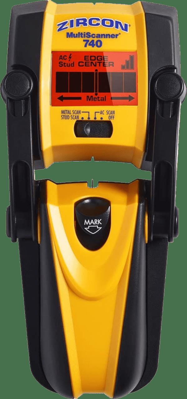 Zircon MultiScanner 740 3 inch max 4 modes multi wall scanner stud finder