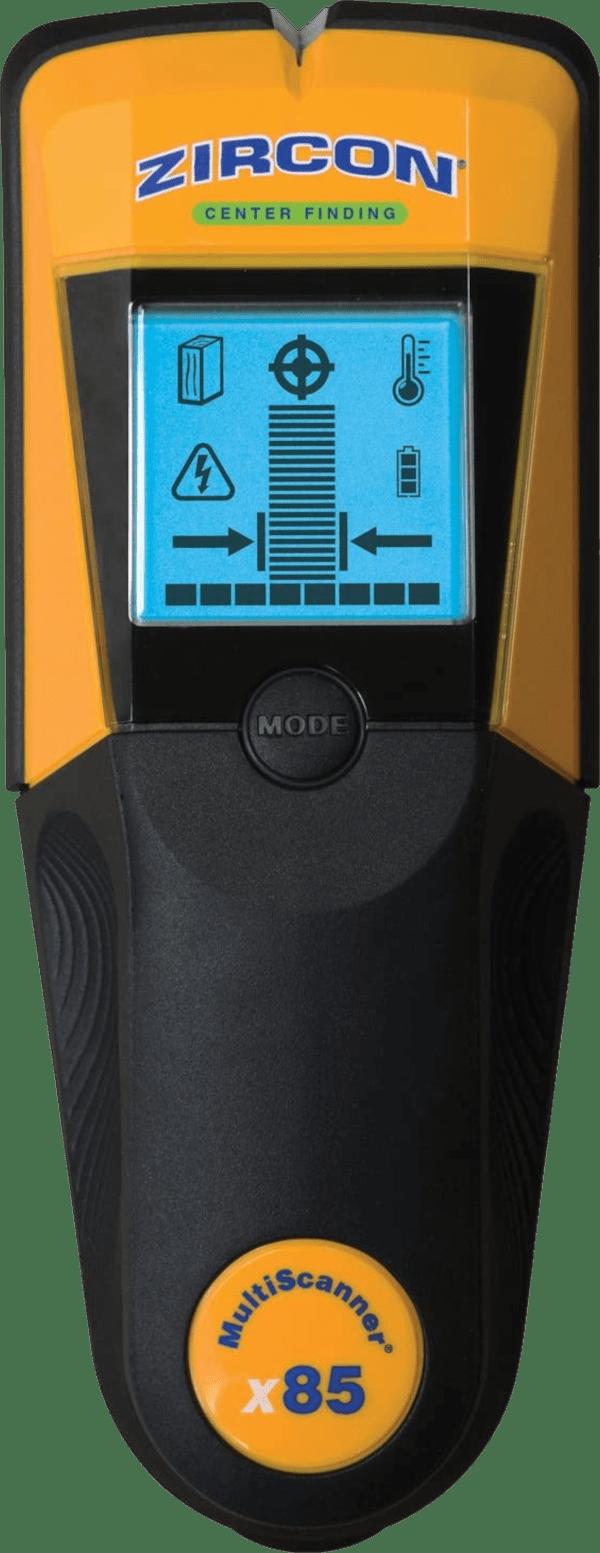 Zircon MultiScanner x85 2 inch max 4 modes w multi wall scanner stud finder