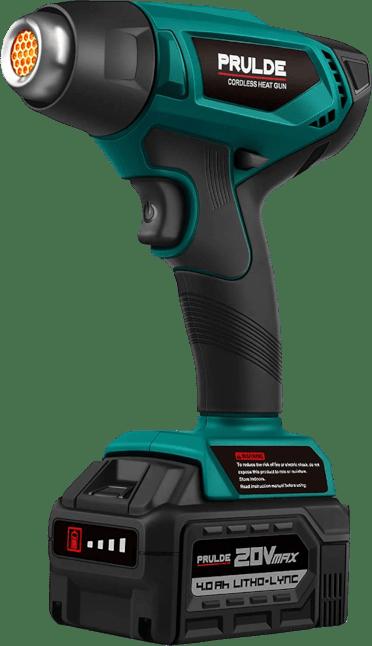 Prulde NHG0140 1022 °F, 20V, cordless heat gun kit