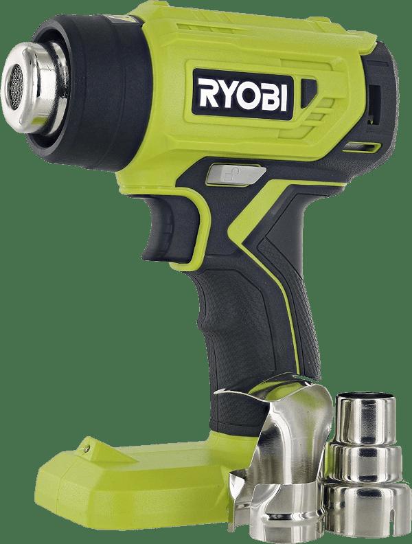 Ryobi P3150 875 °F 18V cordless heat gun kit