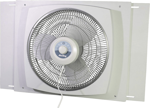 Air King 9155 16 inches 3 speed 2470 cfm single window fan