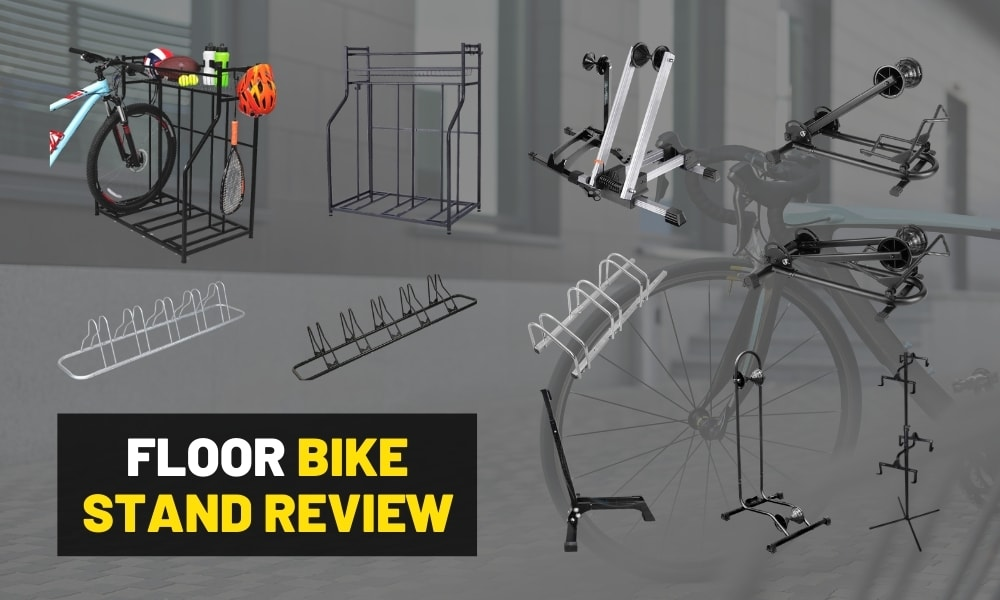 The best garage floor bike stands [For mountain and road bikes]