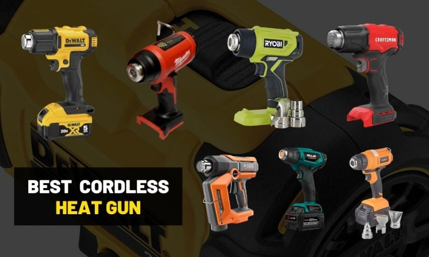 Battery powered heat gun review? | Milwaukee or Dewalt?