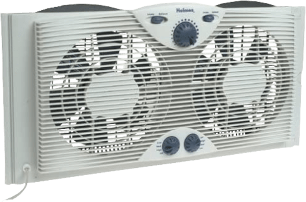 Holmes HAWF2043 N 8.5 inches 3 speed up to 37 inches wide twin window fan