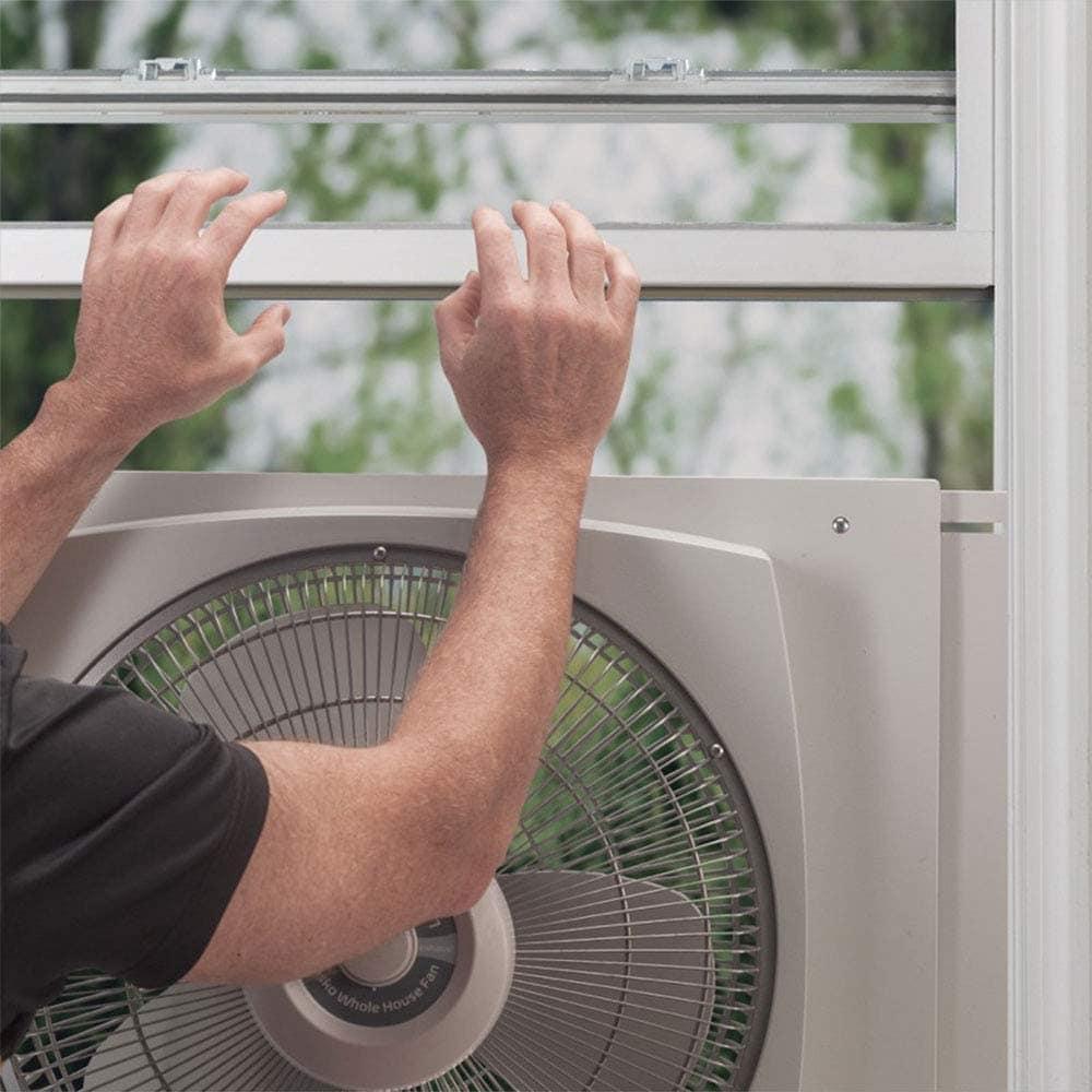 Installing single window fan