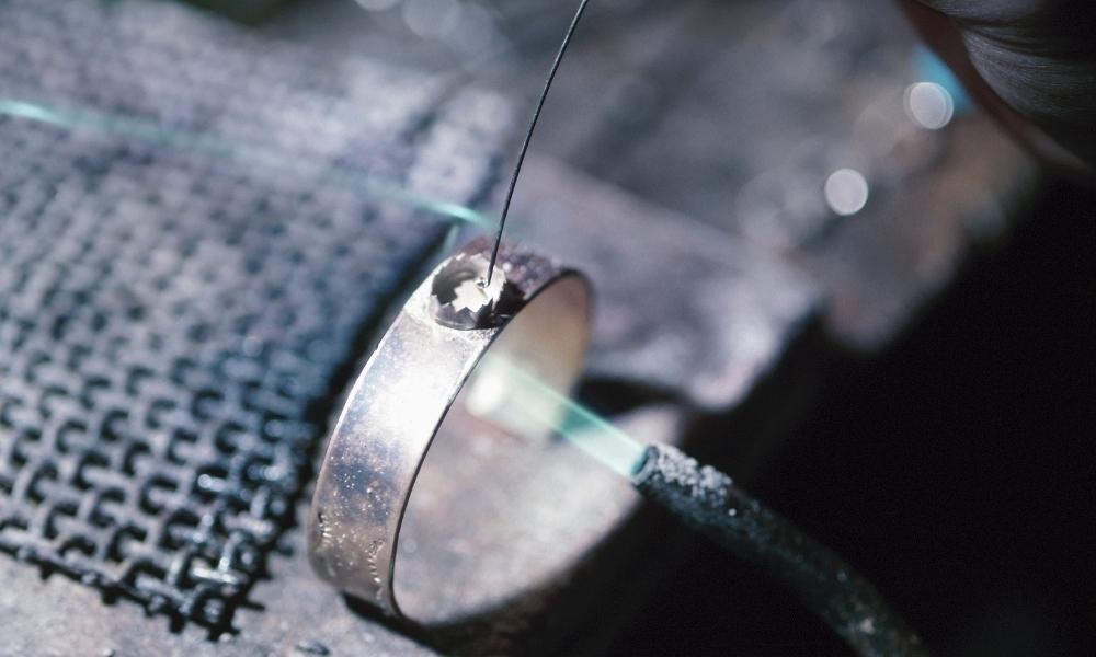 A brazing torch