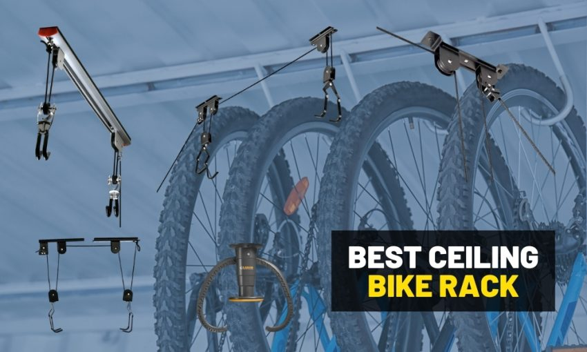Raise the roof: The best bike hangers for garage ceiling