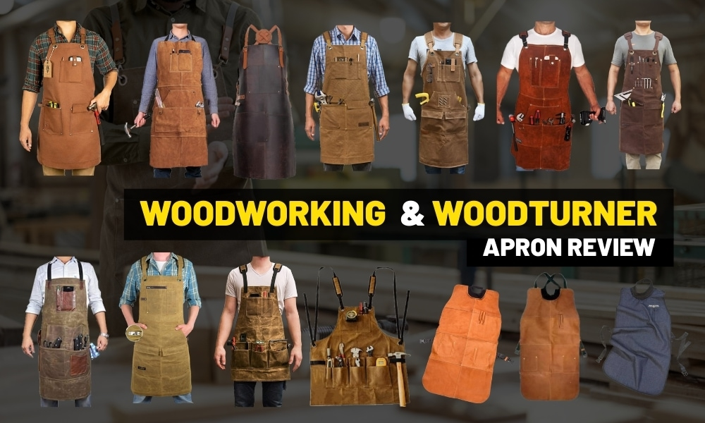 Best woodworking apron | Waxed canvas. vs Leather