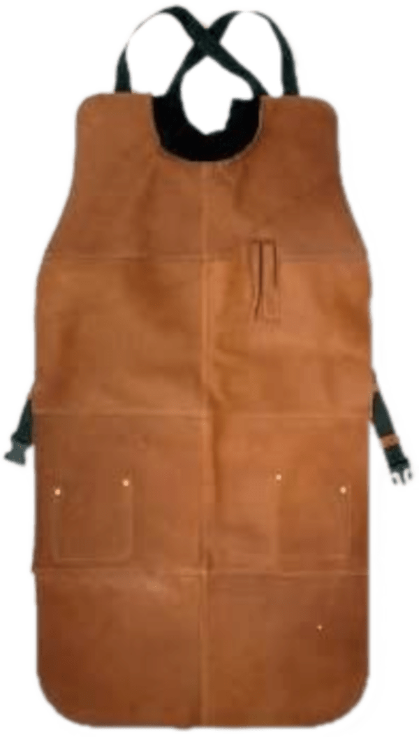 Craftsman by Piel 41-inch, cowhide leather, woodturner's apron