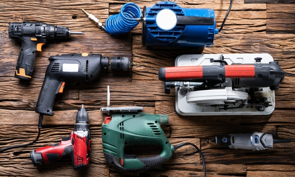 Different power tools 1