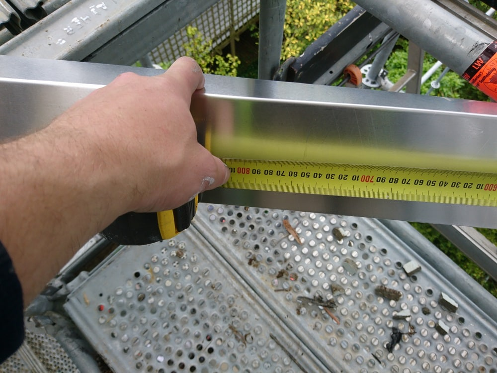 Measuring a flashing
