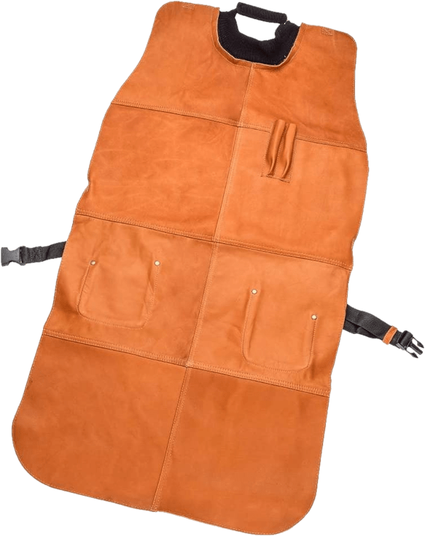 Rockler 41 inch leather woodturners apron