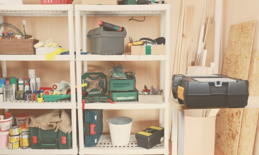 Tool racks for different tools