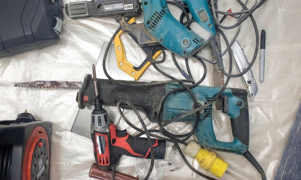 Various corded power tools