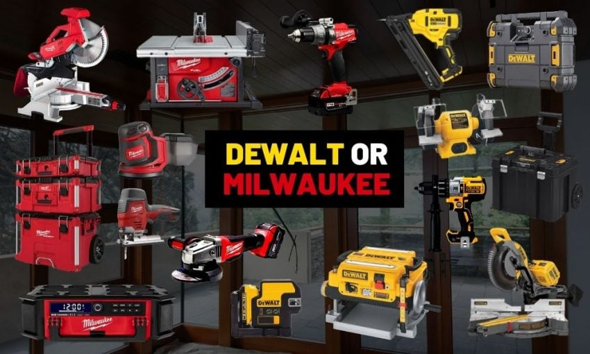 Dewalt or Milwaukee: Who does it better?