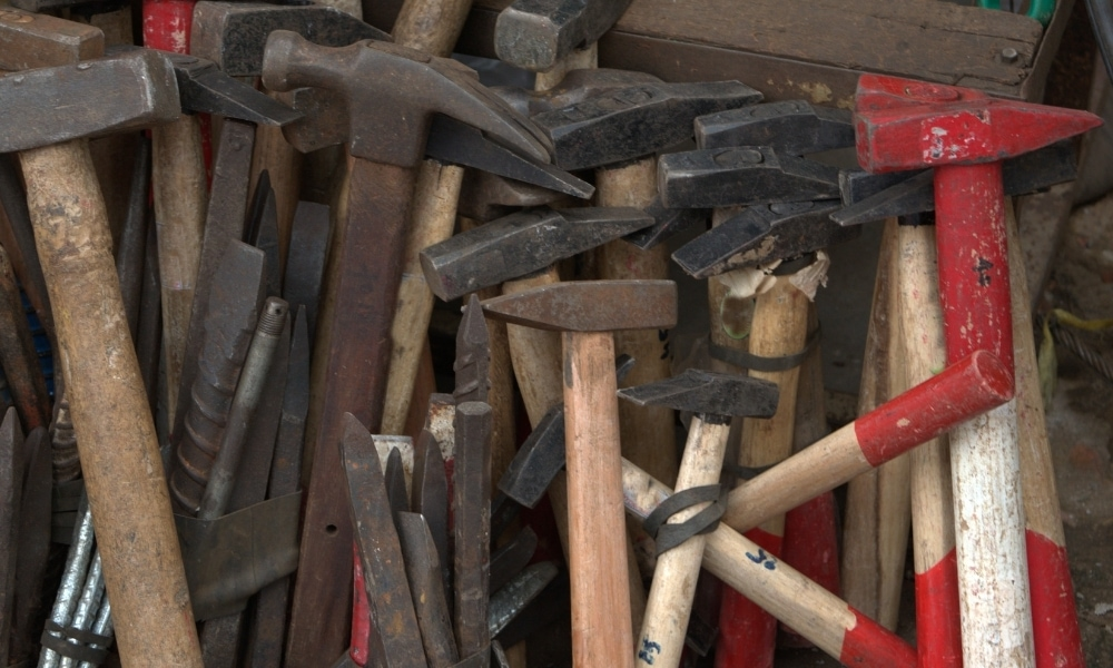 Different hammer types
