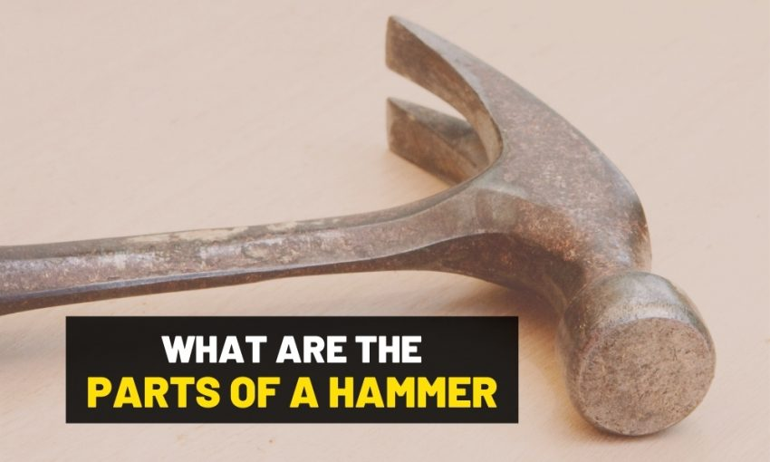 What are the parts of a hammer?