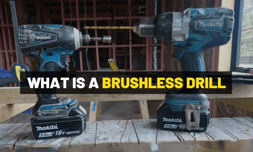 What is a brushless cordless drill?