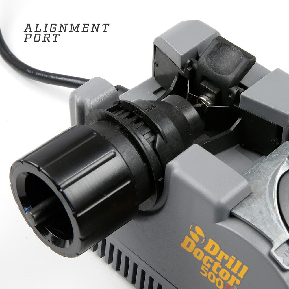 Alignment port of drill doctor
