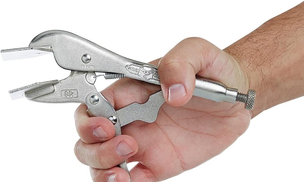 Irwin vise grip sheet metal pliers