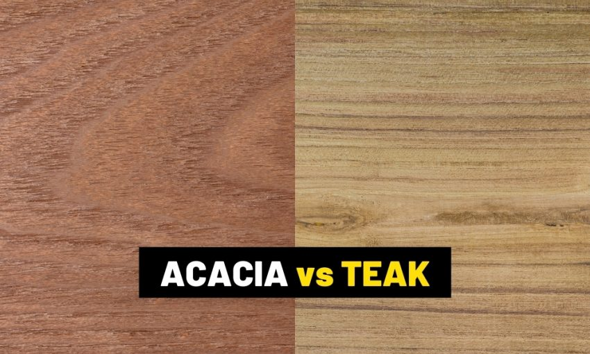 Acacia wood vs teak: Which is better?