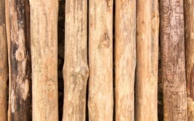 Cut teak timbers and pattern 1