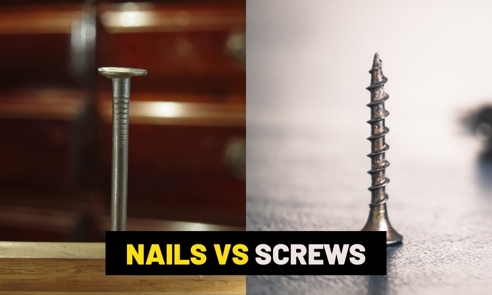 Nails vs Screws what is stronger?